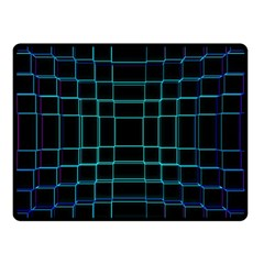 Abstract Adobe Photoshop Background Beautiful Double Sided Fleece Blanket (Small)