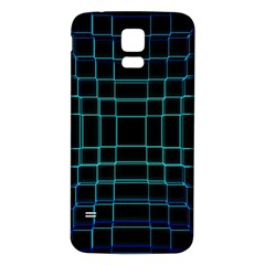 Abstract Adobe Photoshop Background Beautiful Samsung Galaxy S5 Back Case (White)