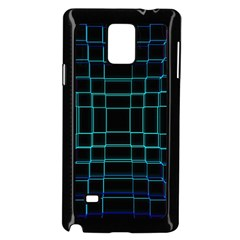 Abstract Adobe Photoshop Background Beautiful Samsung Galaxy Note 4 Case (Black)