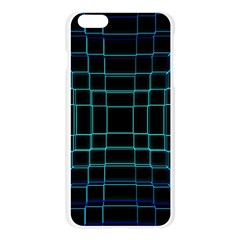 Abstract Adobe Photoshop Background Beautiful Apple Seamless iPhone 6 Plus/6S Plus Case (Transparent)