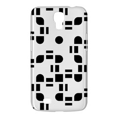 Black And White Pattern Samsung Galaxy Mega 6.3  I9200 Hardshell Case