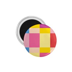 Colorful Squares Background 1.75  Magnets