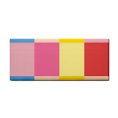 Colorful Squares Background Cosmetic Storage Cases