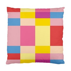 Colorful Squares Background Standard Cushion Case (one Side)