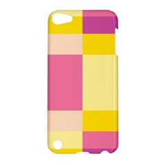 Colorful Squares Background Apple iPod Touch 5 Hardshell Case