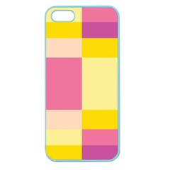 Colorful Squares Background Apple Seamless iPhone 5 Case (Color)