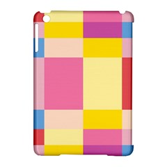 Colorful Squares Background Apple Ipad Mini Hardshell Case (compatible With Smart Cover)