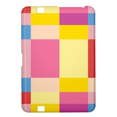 Colorful Squares Background Kindle Fire HD 8.9