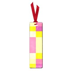 Colorful Squares Background Small Book Marks
