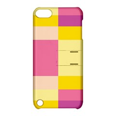 Colorful Squares Background Apple iPod Touch 5 Hardshell Case with Stand
