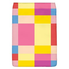 Colorful Squares Background Flap Covers (L)