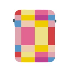 Colorful Squares Background Apple iPad 2/3/4 Protective Soft Cases