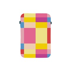 Colorful Squares Background Apple iPad Mini Protective Soft Cases