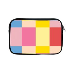 Colorful Squares Background Apple iPad Mini Zipper Cases
