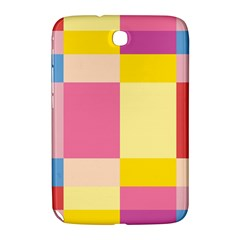 Colorful Squares Background Samsung Galaxy Note 8.0 N5100 Hardshell Case