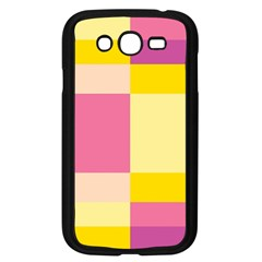 Colorful Squares Background Samsung Galaxy Grand Duos I9082 Case (black)