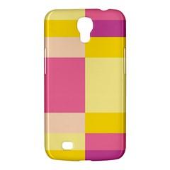 Colorful Squares Background Samsung Galaxy Mega 6.3  I9200 Hardshell Case