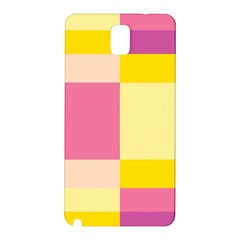 Colorful Squares Background Samsung Galaxy Note 3 N9005 Hardshell Back Case