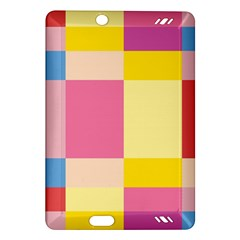 Colorful Squares Background Amazon Kindle Fire HD (2013) Hardshell Case