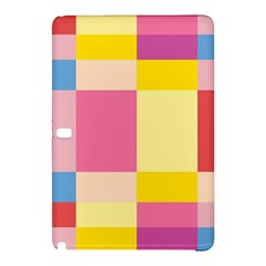 Colorful Squares Background Samsung Galaxy Tab Pro 10.1 Hardshell Case
