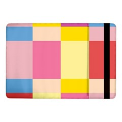 Colorful Squares Background Samsung Galaxy Tab Pro 10.1  Flip Case