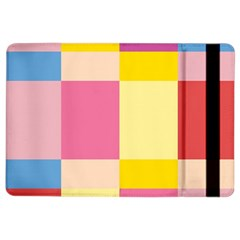 Colorful Squares Background iPad Air 2 Flip
