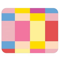 Colorful Squares Background Double Sided Flano Blanket (medium)