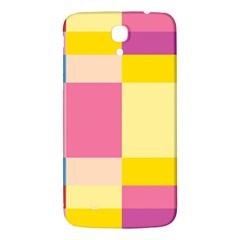 Colorful Squares Background Samsung Galaxy Mega I9200 Hardshell Back Case