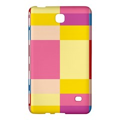 Colorful Squares Background Samsung Galaxy Tab 4 (7 ) Hardshell Case