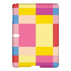 Colorful Squares Background Samsung Galaxy Tab S (10 5 ) Hardshell Case