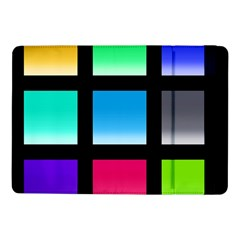 Colorful Background Squares Samsung Galaxy Tab Pro 10.1  Flip Case
