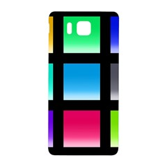 Colorful Background Squares Samsung Galaxy Alpha Hardshell Back Case