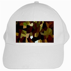 Crystallize Background White Cap