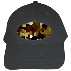 Crystallize Background Black Cap