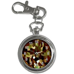 Crystallize Background Key Chain Watches