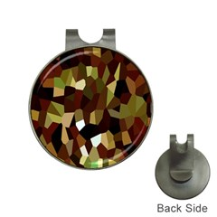 Crystallize Background Hat Clips With Golf Markers