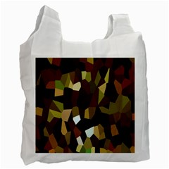 Crystallize Background Recycle Bag (One Side)