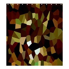 Crystallize Background Shower Curtain 66  X 72  (large)