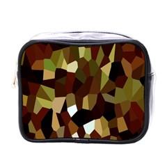 Crystallize Background Mini Toiletries Bags