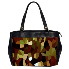 Crystallize Background Office Handbags (2 Sides)