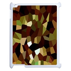 Crystallize Background Apple iPad 2 Case (White)