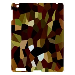 Crystallize Background Apple iPad 3/4 Hardshell Case