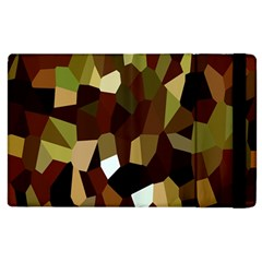 Crystallize Background Apple iPad 2 Flip Case