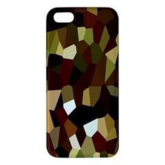 Crystallize Background Iphone 5s/ Se Premium Hardshell Case