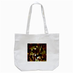 Crystallize Background Tote Bag (White)