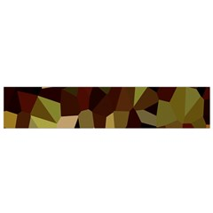Crystallize Background Flano Scarf (Small)