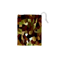 Crystallize Background Drawstring Pouches (XS)