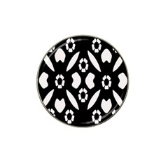 Abstract Background Pattern Hat Clip Ball Marker (4 Pack)