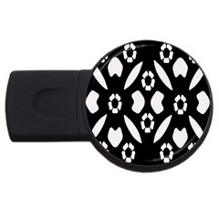 Abstract Background Pattern USB Flash Drive Round (4 GB)
