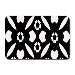 Abstract Background Pattern Plate Mats